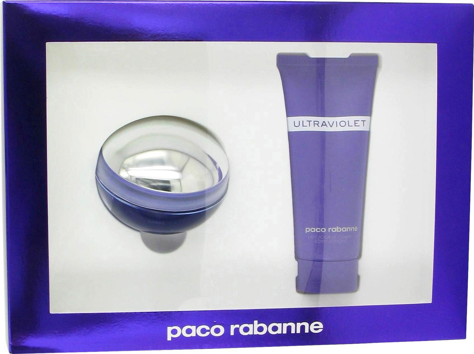 Paco Rabanne Ultraviolet Gift Set Eau de Parfum Spray 2.7 oz & Body Lotion 3.4 oz 2 pcs at Sears.com